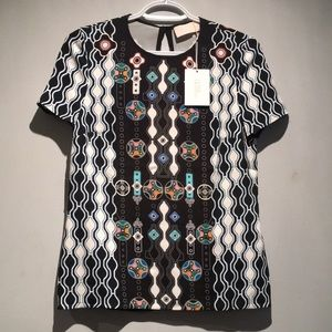 NWT Peter Pilotto Blouse Size 2